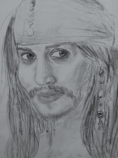 Johnny Depp by andrawings